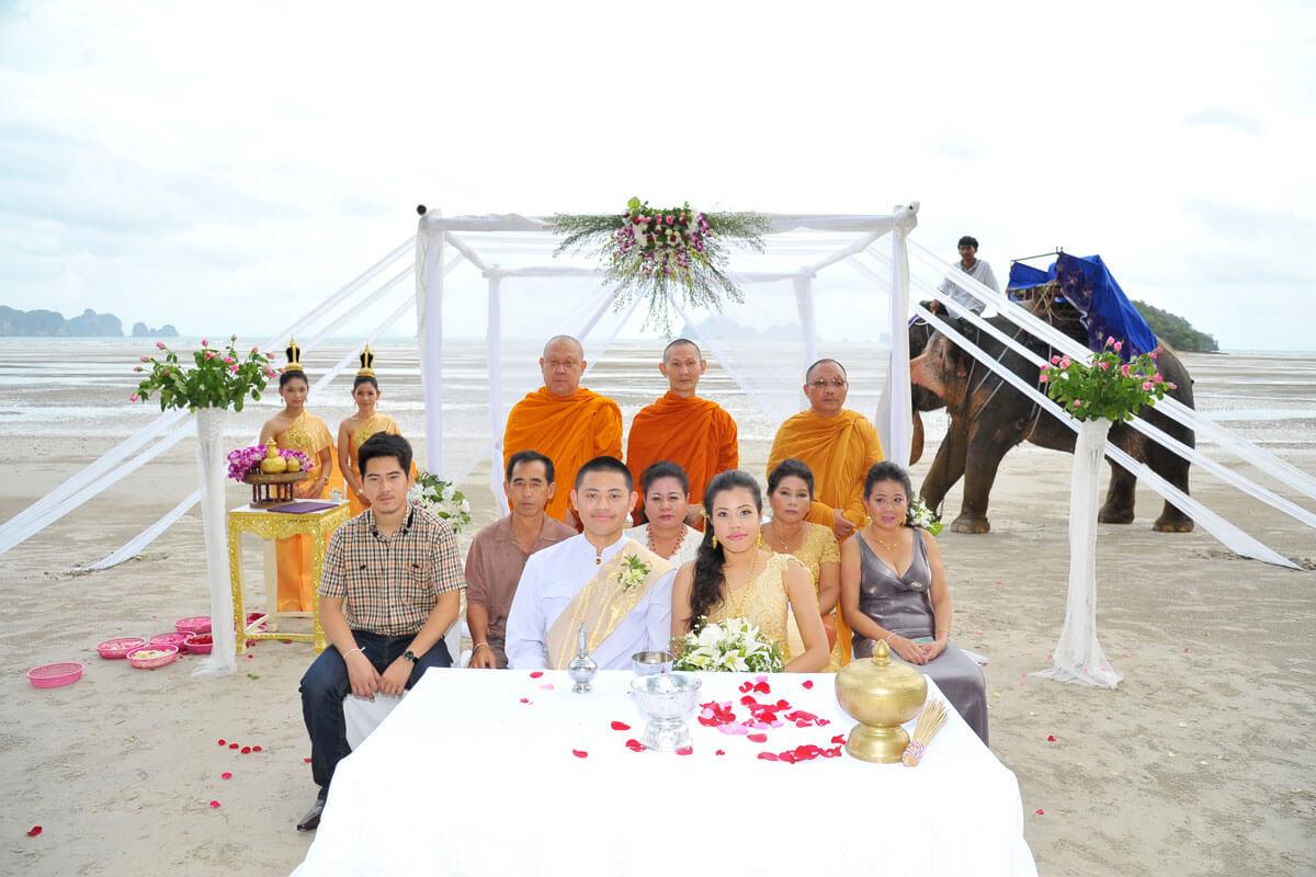 Elephant Wedding Ceremony Packages : Krabi, Thailand