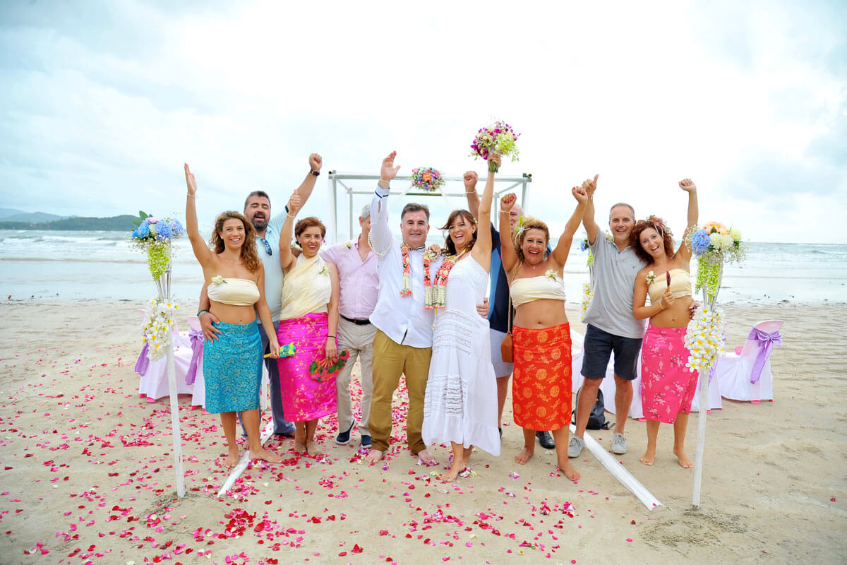 Lanta Beach Wedding