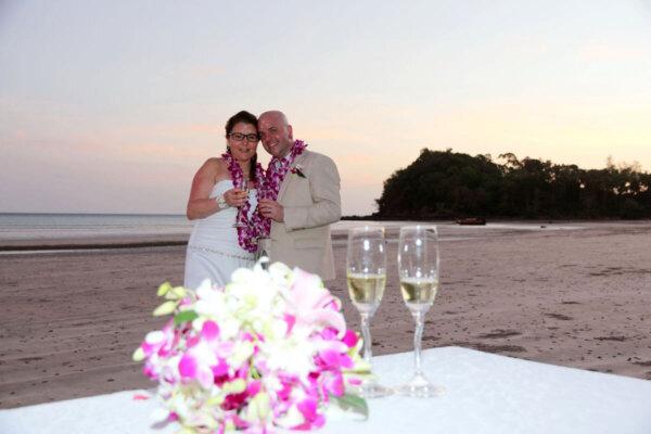 Lanta Beach Wedding