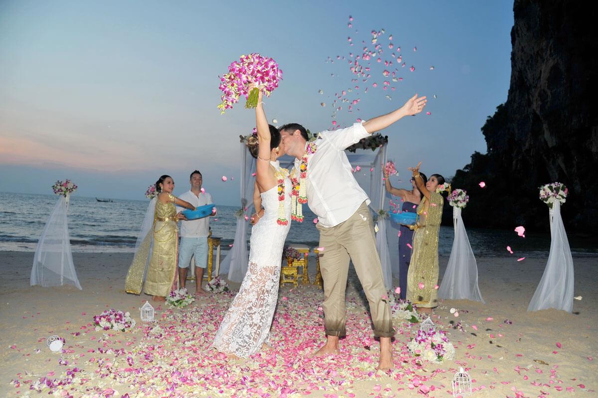 Railay Beach Wedding Krabi Thailand