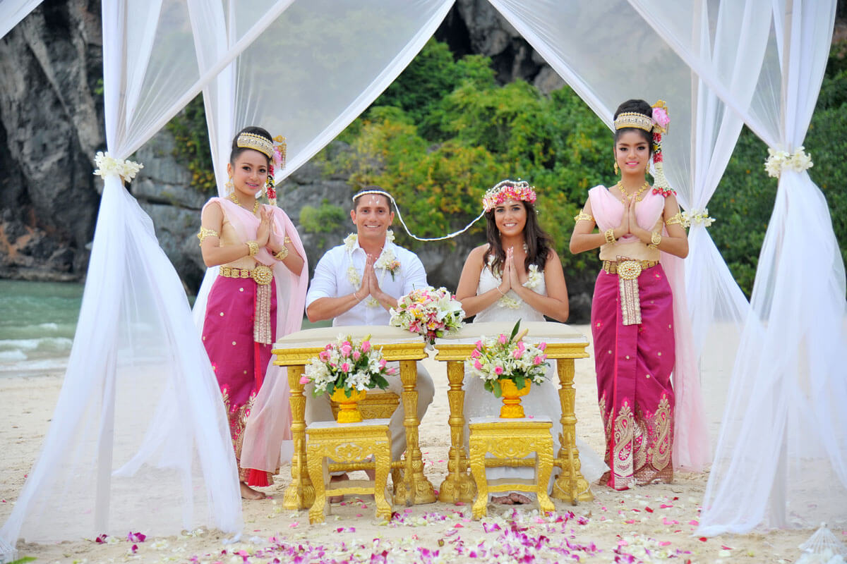 Wedding Ceremony Packages: Krabi Wedding Destination Packages Enquiry : Thailand