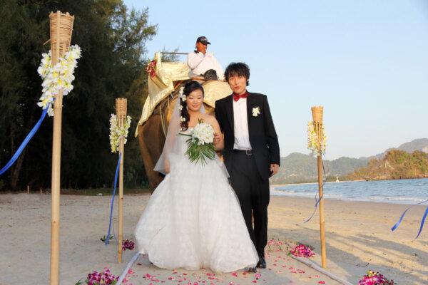 Long Beach Wedding Package : Liu Yihe + Guan Yuan
