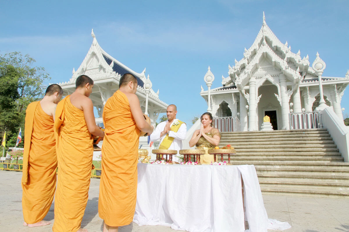 Promotion Temple Buddhist Blessing