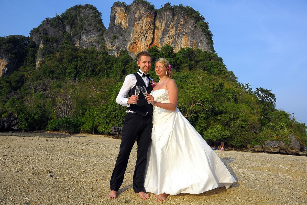 Rai Island Wedding