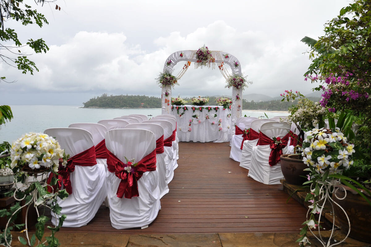 Wedding ceremony packages venues krabi thailand for Small private wedding venues