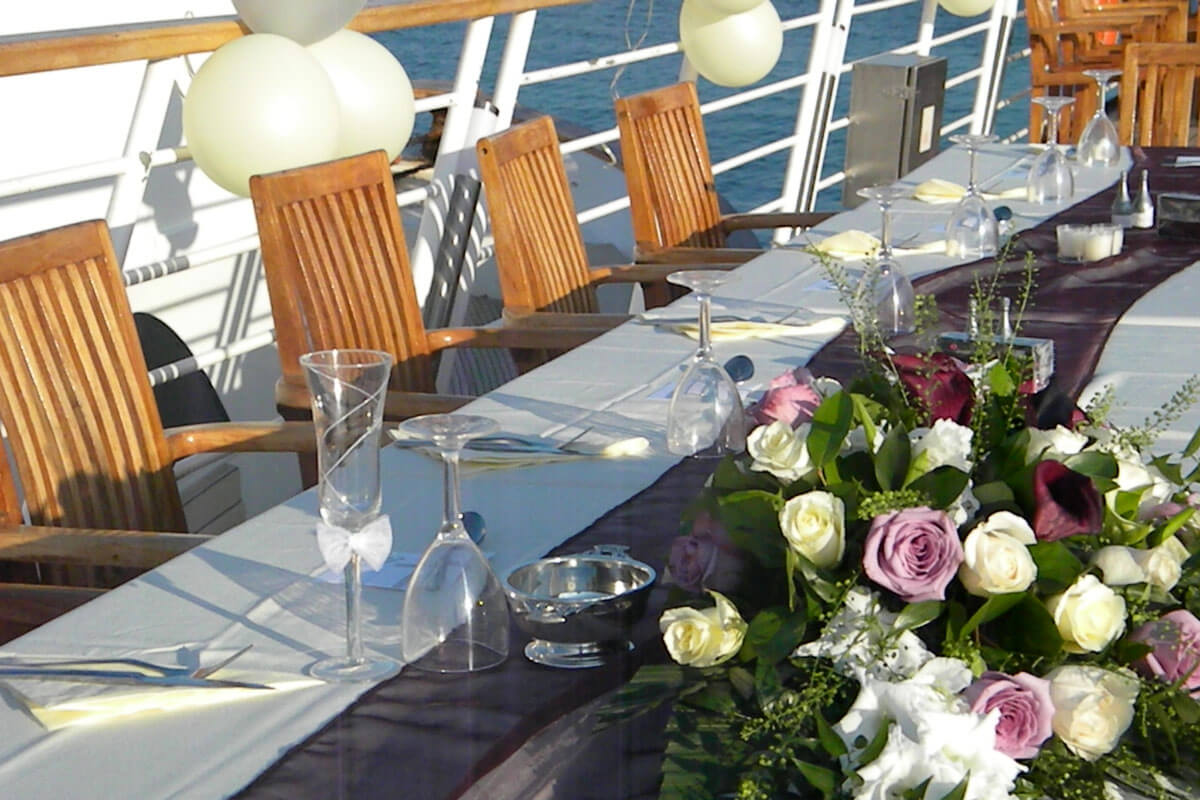 Yacht Wedding Venue