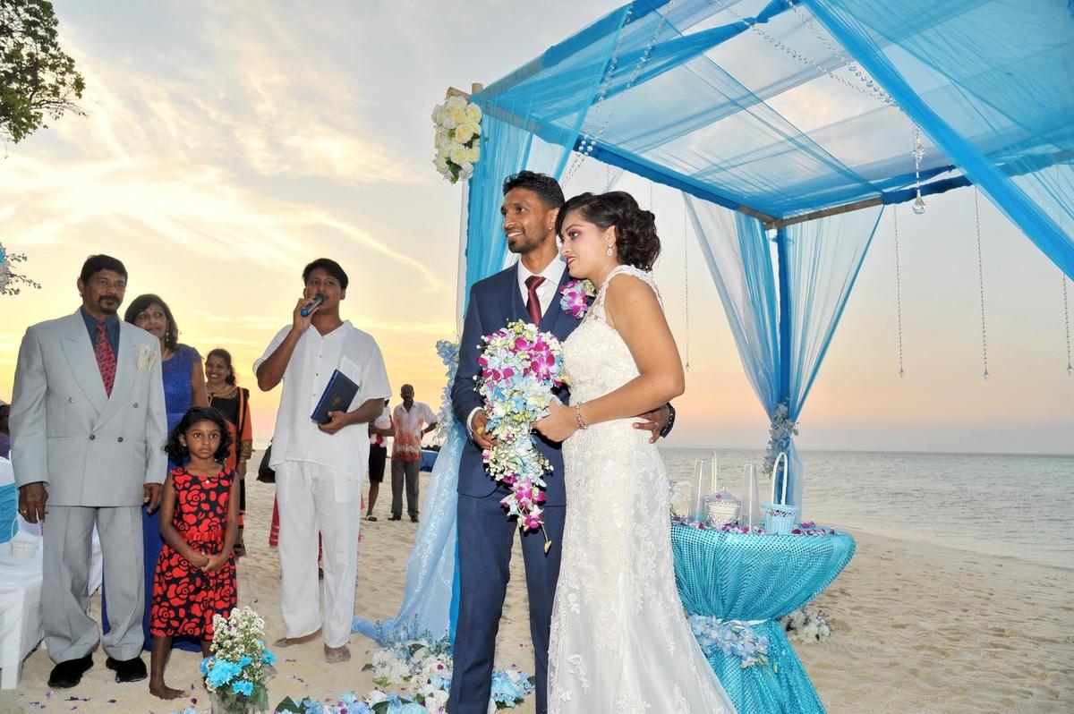 Bamboo Island Wedding