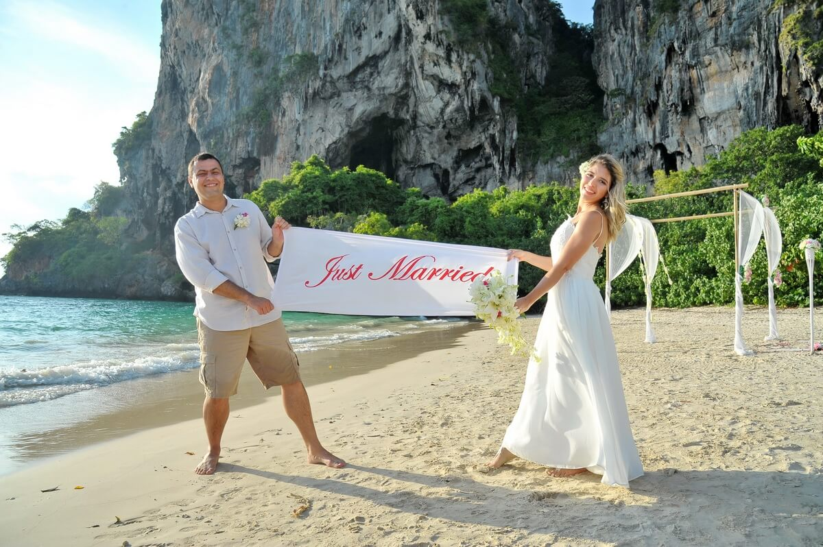 Railay Bay Wedding