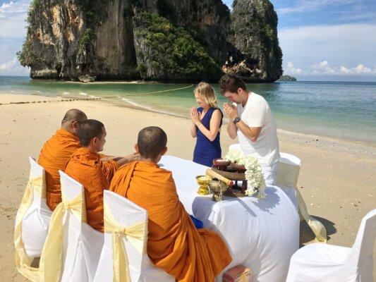 Railay Beach Buddhist Blessing
