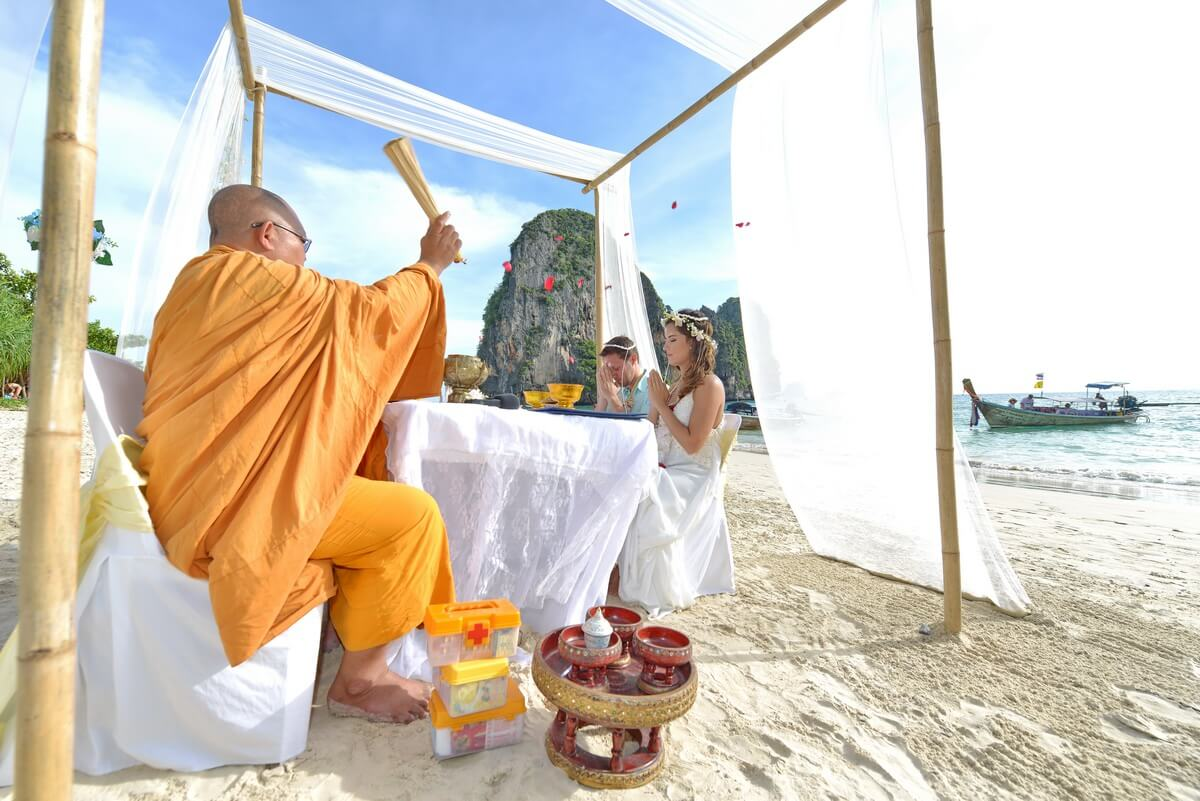 Railay Buddhist Blessing
