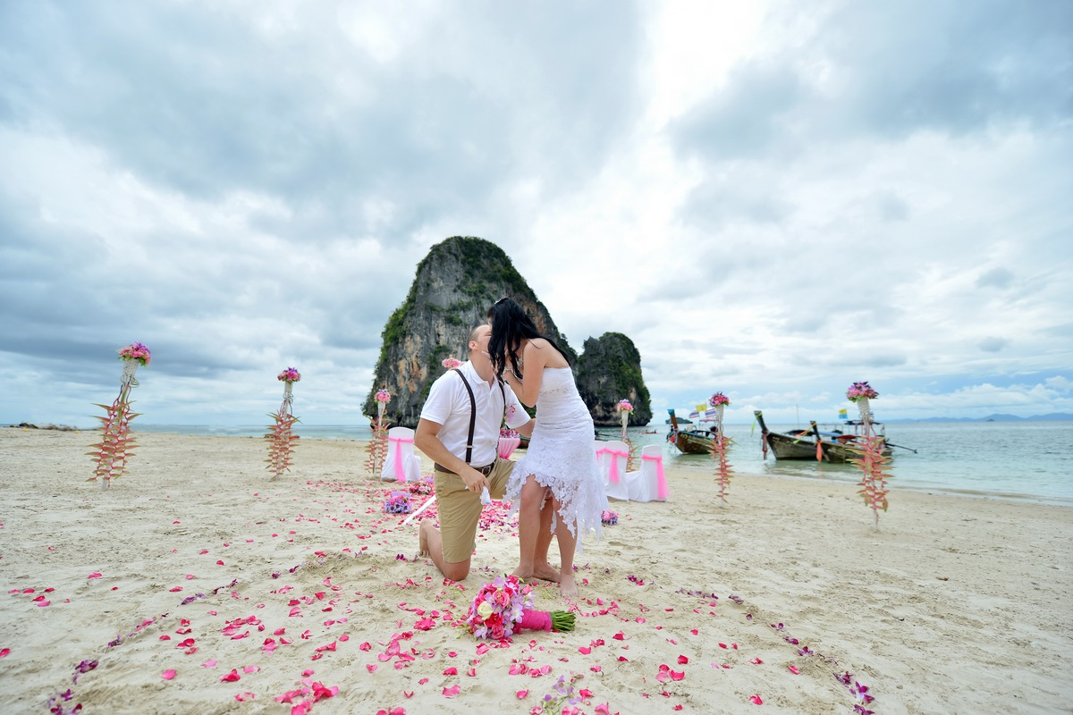 Railay Protestant Wedding
