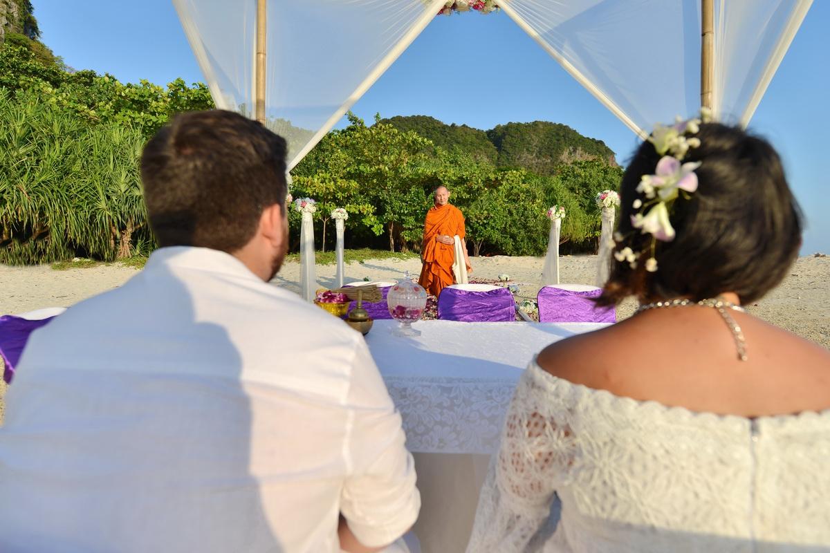 Railay Beach Wedding