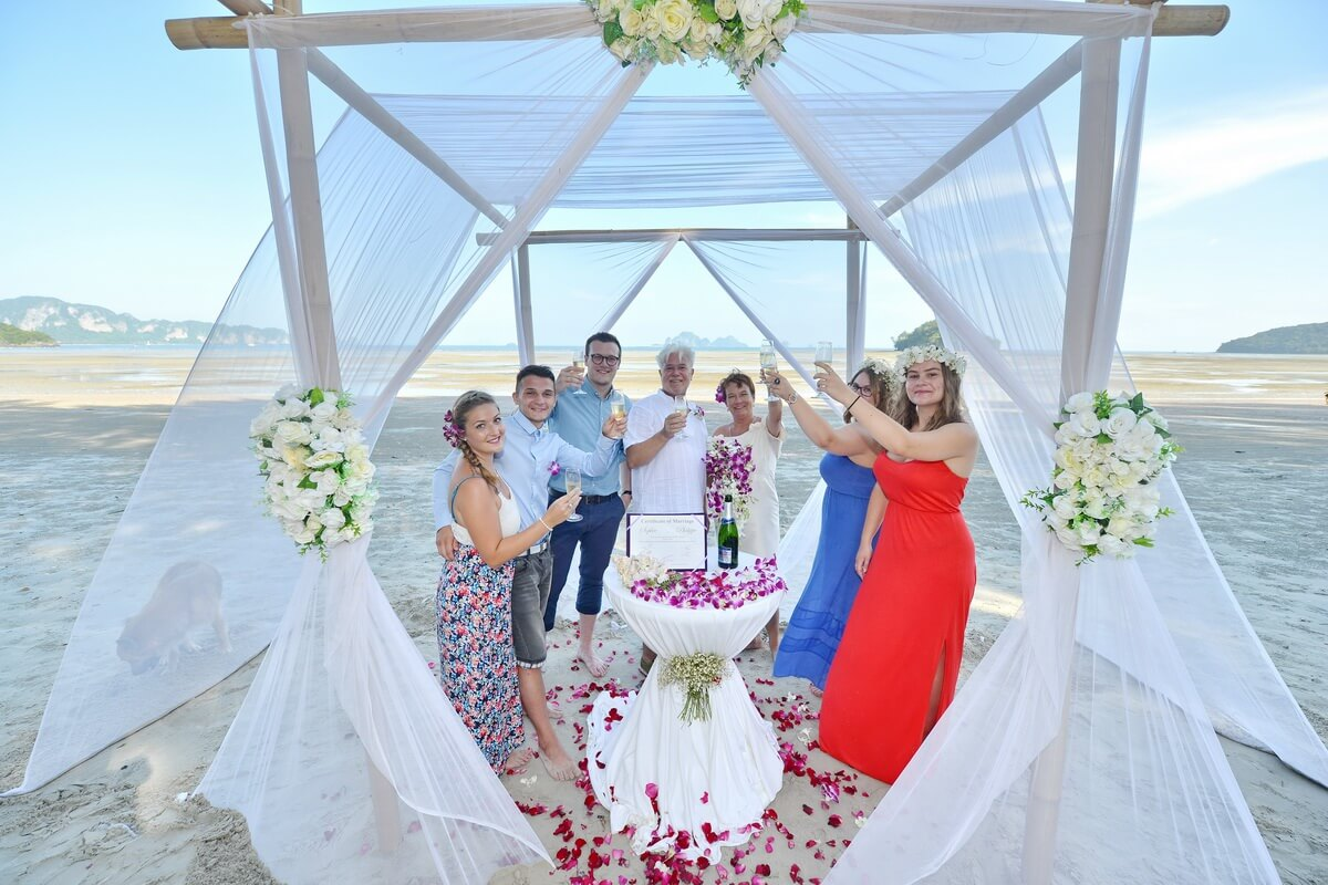 Krabi Beach Wedding