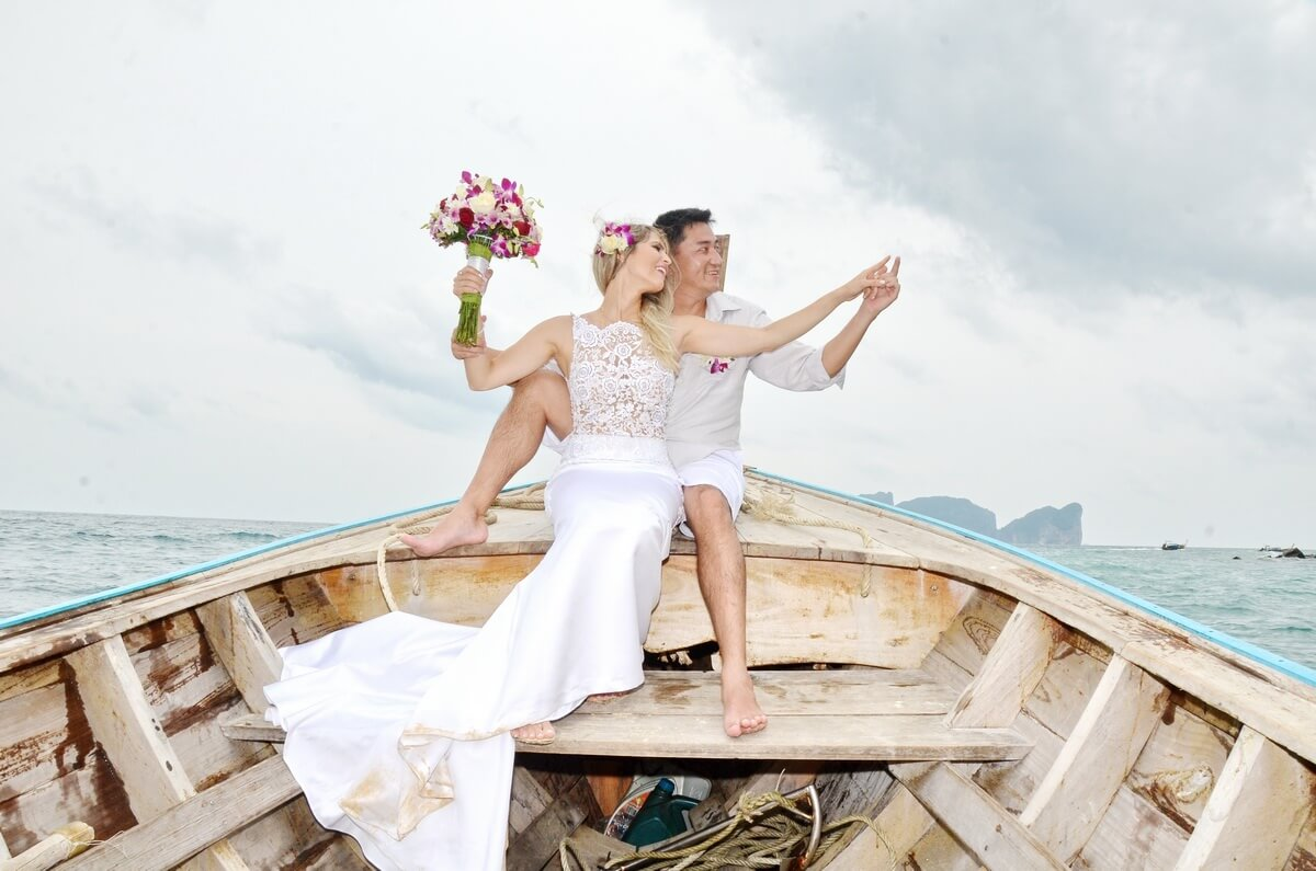 Phi Phi Beach Wedding