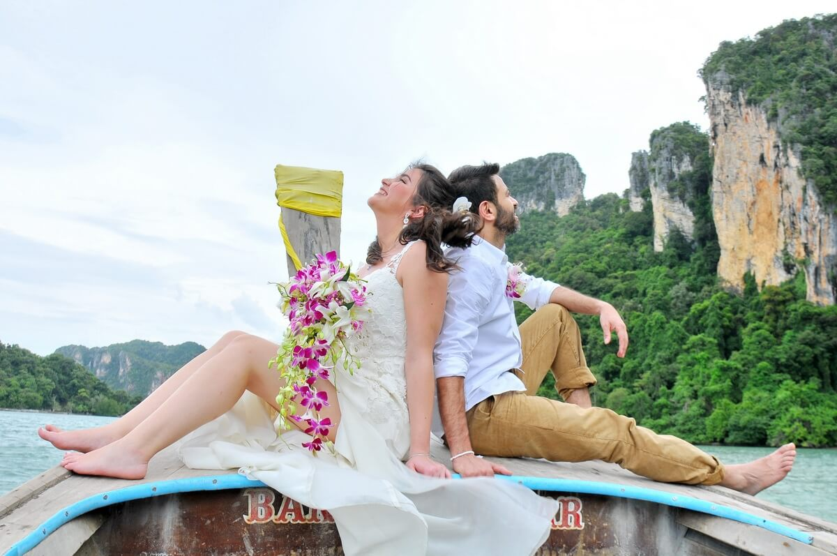 Railay Bay Beach Wedding