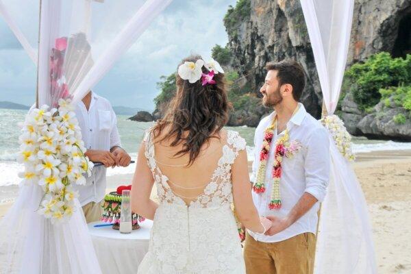 Railay Bay Beach Wedding