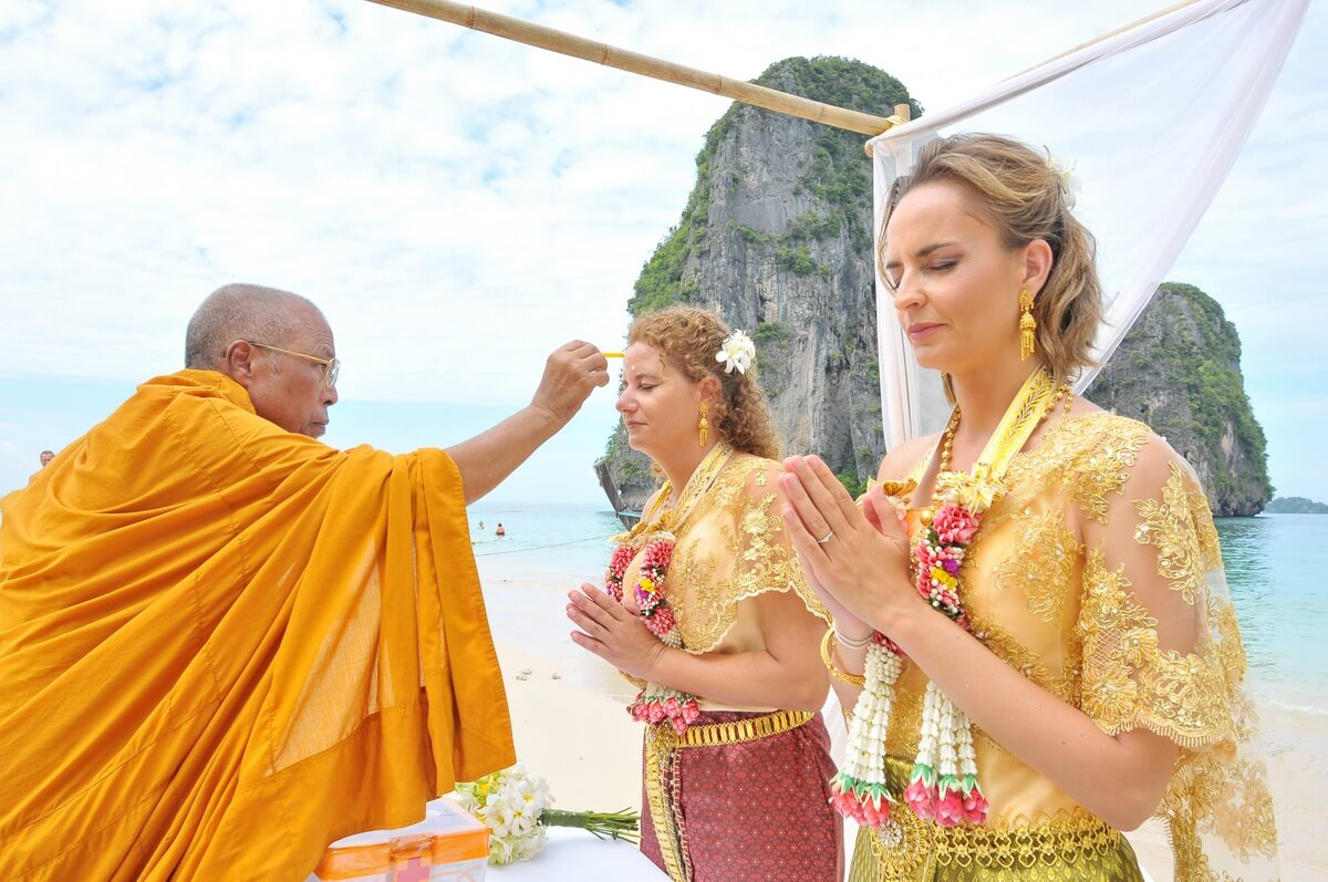 Railay Bay Buddhist Blessing