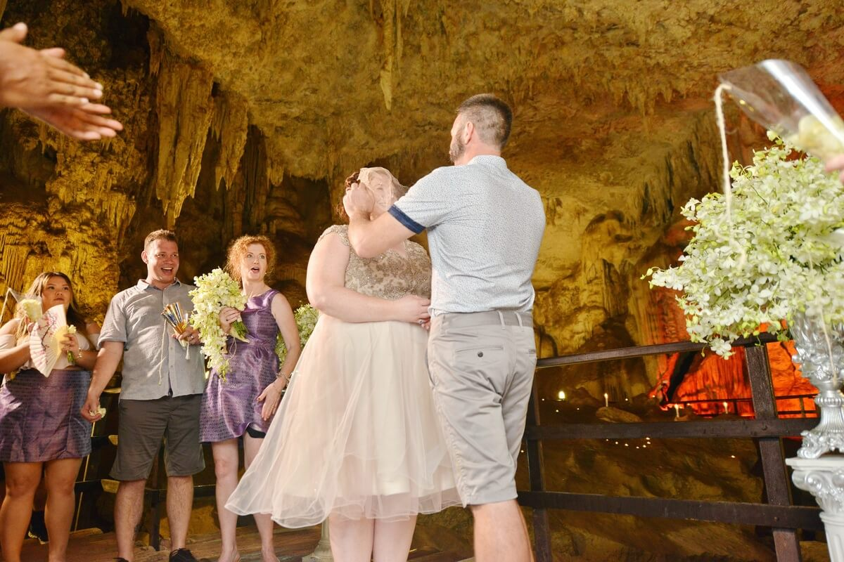 Wedding Ceremony Packages: Railay Cave Secular Wedding Package : Kelly + Matthew