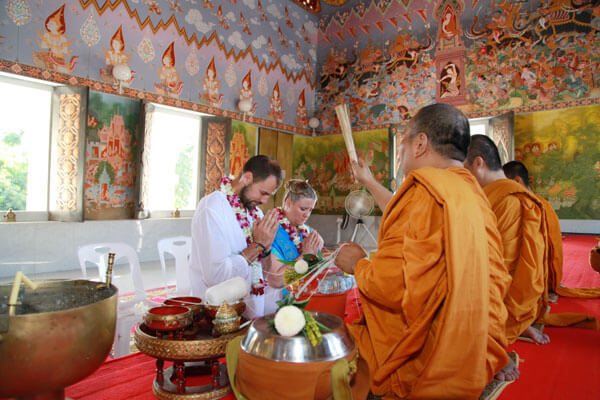 Krabi Buddhist Blessing