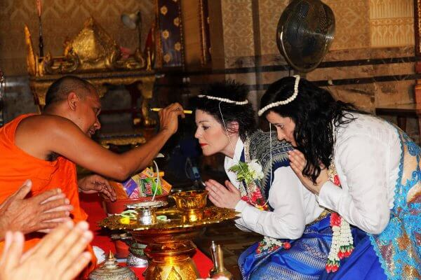 Same Sex Buddhist Blessing